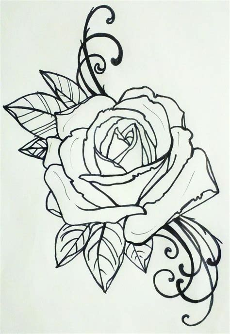 tattoos drawings for men designs roses for tattoos i
