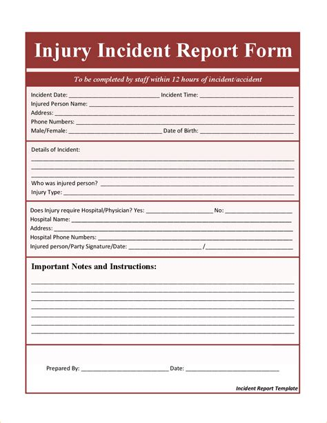 Incident Report Template Microsoft Word Portablegasgrillweber Com Incident Report Template Microsoft