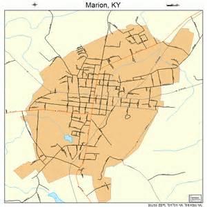marion map marion kentucky map 2150034