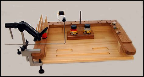 fly tying bench gary s fly tying bench mkii