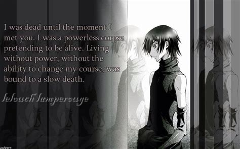 Vi And Sad Look From The You Are A Photo Pool by Lelouch Quote I Bet He Said It To Suzaku Brow Wiggle