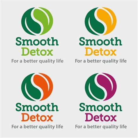 Detox Logos by Smooth Detox Logo Packaging Design Organic Smoothies