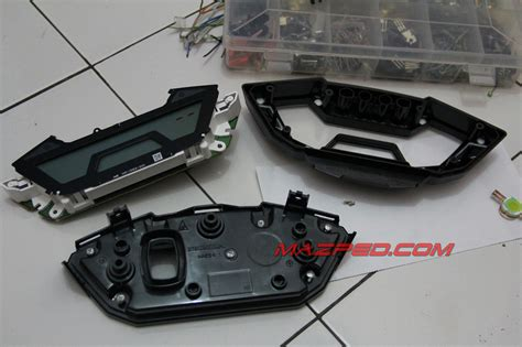 Speedometer Plus Cover Meter Cb 150 R Lama Sebelum Led Original modifikasi speedometer new cb150r mazpedia
