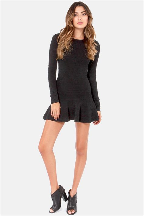 swinging sixties dresses sexy black dress long sleeve dress mini dress 68 00