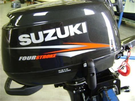Suzuki 15 Hp Outboard Manual Suzuki Outboard Df6s Df 6 Hp 15 Inch Shaft Four Stroke
