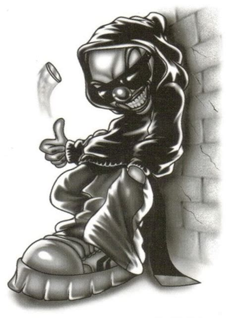 joker homies tattoo gallery for gt homies joker logo