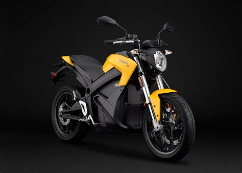 Elektromotorrad Zero X by 2015 Zero S Electric Motorcycle Yellow Angle Right
