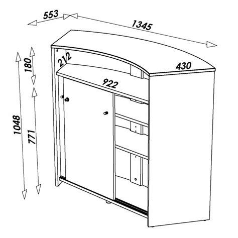 hauteur d un meuble de cuisine hauteur d un meuble de cuisine hauteur meuble haut