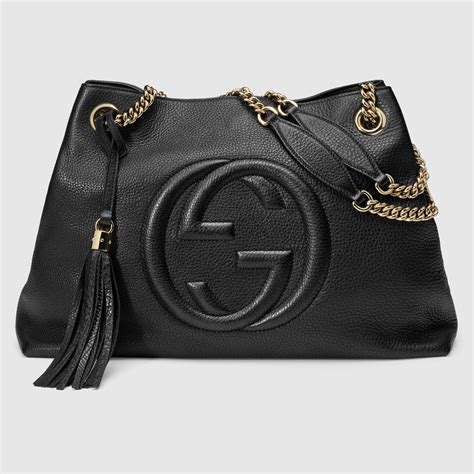 gucci soho bag gucci soho leather shoulder bag 308982a7m0g1000