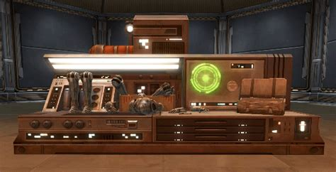engineering work bench swtor droid engineer s workbench tor decorating