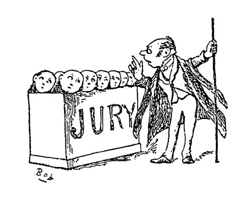 bench trail trial by jury clipart download