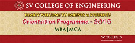 What Is The Form Of Mba And Mca by News Sv Colleges