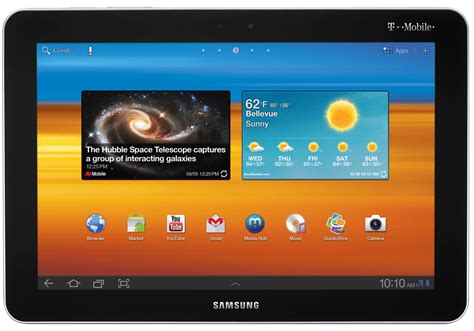 Tablet Samsung Second t mobile set to launch samsung galaxy tab 10 1 on november