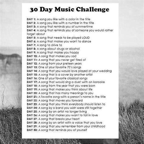 day songs free 84 free 30 day song challenge playlists 8tracks radio