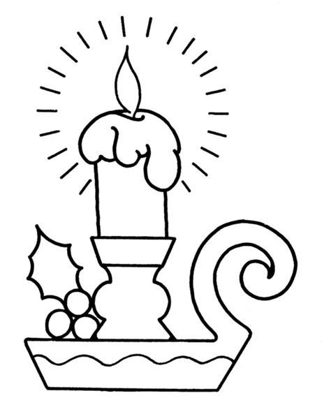 candela disegno disegni da colorare candela stabile gratuito per