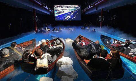 room bioskop keren mind blowing outdoor titanic theater has life boat seating