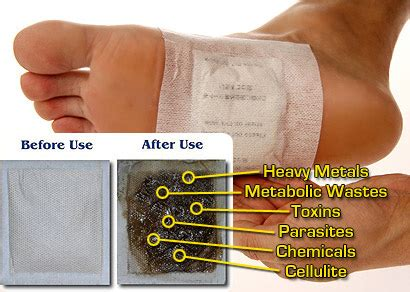 Do Detox Foot Pads Work by Detox Detox Foot Pads Remove Toxins