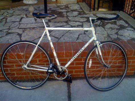 peugeot bike white peugeot white frame track bicycle chicago stolen bike
