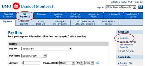 Bmo Investorline Faqs Deposits Into Your Bmo
