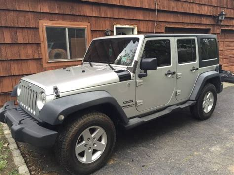 2011 jeep wrangler unlimited for sale 2011 jeep wrangler unlimited sport for sale in glen cove