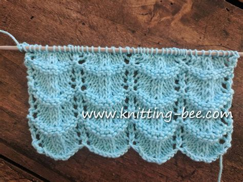 crochet wave ripple pattern stitch knitting bee ripple lace knitting pattern lacy crochet lacy ripple