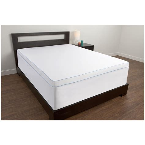 comfortable mattress toppers comfort revolution mattress topper cover 608322