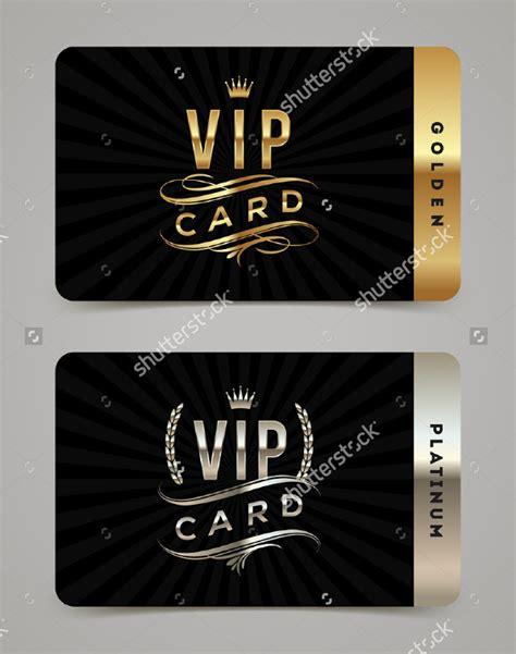 Vip Card Template Free by 23 Vip Card Templates Free Premium