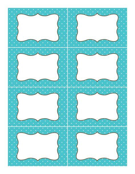 printable label templates classy polka dot labels get studiootb