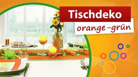 tischdeko orange tischdeko orange gr 252 n tischdekoration trendmarkt24