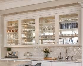 Mirrored Kitchen Cabinet Doors Seaside Shingle Coastal Home Home Bunch Interior Design Ideas