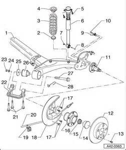 Audi A2 Suspension Audi Workshop Manuals Gt A2 Gt Running Gear Front Wheel
