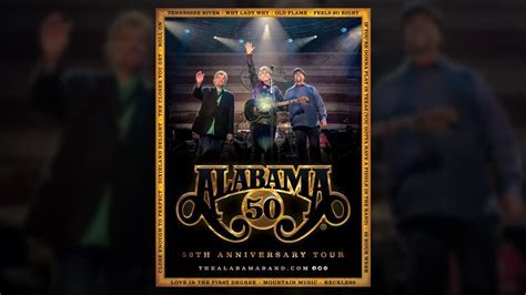 "Alabama band announces ""50th Anniversary Tour"" for 2019"