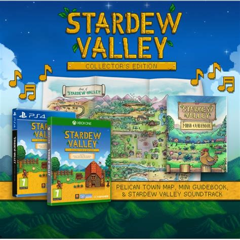 Kaset Ps4 Stardew Valley Collector S Edition stardew valley collectors edition ps4 shop4fr