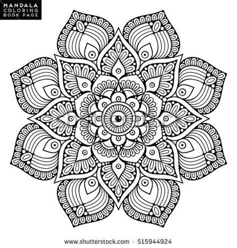 color because 18 patterns to color books 1962 best mandala images on coloring books