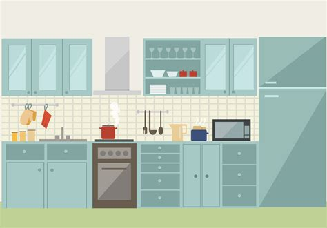 kitchen pattern vector free kitchen free vector art 2762 free downloads