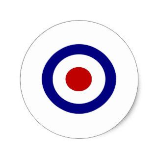 mod target sticker sold at europosters mod target stickers zazzle co uk