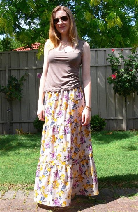9 Gorgeous Maxi Skirts by Diy Maxi Skirt With Your Own Measurements Freebies And