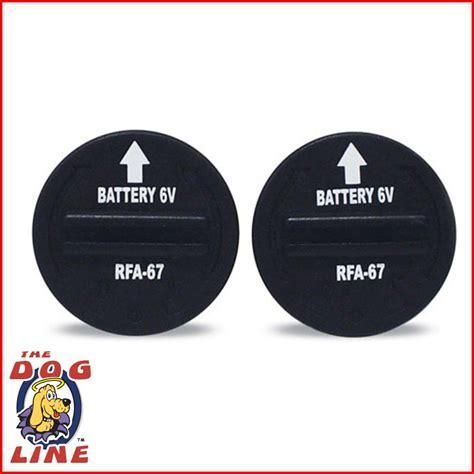 collar batteries petsafe rfa67 bark collar battery buy petsafe rfa 67 battery
