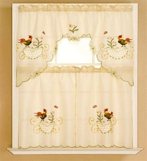 Rooster Kitchen Curtains Ideas Rooster Kitchen Curtains Ideas Home Design Inspirations