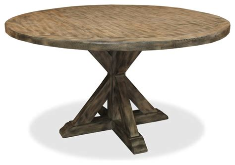 seth recycled wooden dining table grey 60