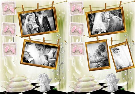 wedding collages templates photo collage templates 350 gorgeous designs