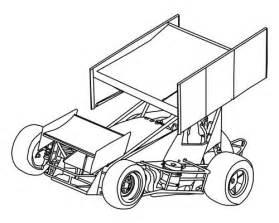 Sprint Car Vector 10 Art Pinterest Cars sketch template
