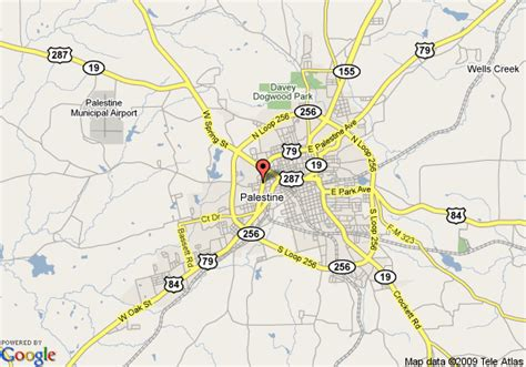 where is palestine texas on the map map of best western palestine inn palestine