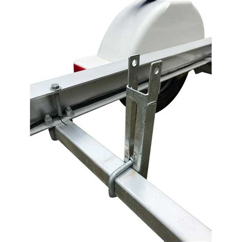 boat trailer bunks boat trailer bunks plastic 6 foot with 45 degree angles