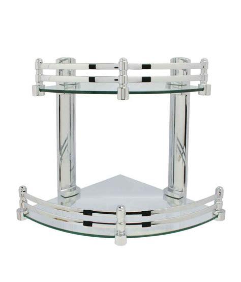 Corner Shelf Rack by Buy Alpina Royal Corner Shelf Rack At Low Price In