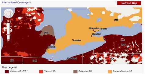 verizon coverage canada map us cellular 171 my sunday brief