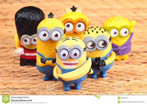 Minion Happy Meal Mcdonald Cards minions editorial photo image 58523761