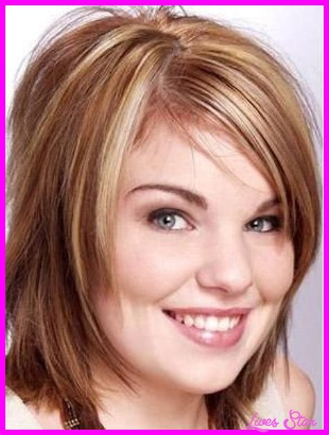 haircuts for thin hair chubby face thin fine hairstyles for round face livesstar com