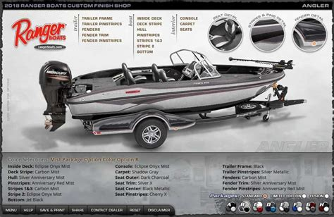ranger bass boat packages ranger 2018 angler colors vics boats home