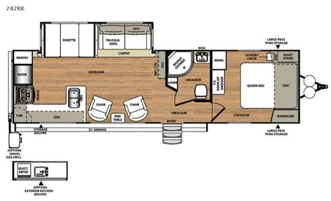 park model travel trailer floor plans new 2017 forest river rv salem hemisphere lite 282rk